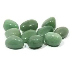 Green Aventurine Tumble Stone - CrystalAge - Elune Blue