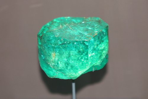 """Emerald is often referred to as """"The Poet's Stone,"""" as it is considered a source for creativity and inspiration. -- Emerald Gemstone Meaning and Uses"""