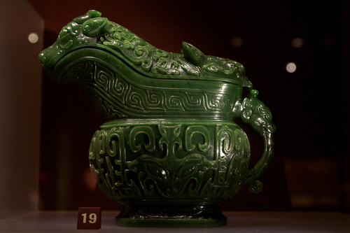 Jade is a stone that is easily carved yet sturdy, thus it lends itself to being shaped rather easily, and has been used in antiquity to forge masks, knives, vessels, as well as being used to craft jewelry both history and modern times. -- Jade Stone Uses