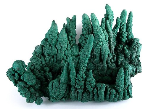 """Malachite is considered """"The Stone of Transformation."""" and embodies the energies of natural healing, and spiritual growth. -- Malachite Meaning and Uses"""