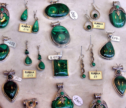Zaire produces the best quality malachite, but the stone can be found in other parts of the world such as Romania and the Congo.  -- Malachite Facts