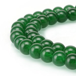 Jade Gemstone Natural Round Beads from BRCbeads
