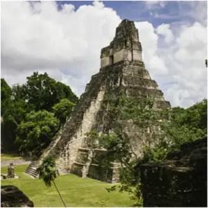 Mayan Ruins, Tikal - Mayan Ruins Discovered in Guatemala - Elune Blue (300x300)