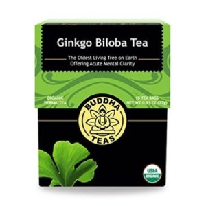 This Ginkgo Biloba tea makes a fine brew with a slightly nutty flavor yet sweet and pleasant aftertaste. -- Ginkgo Biloba Tea