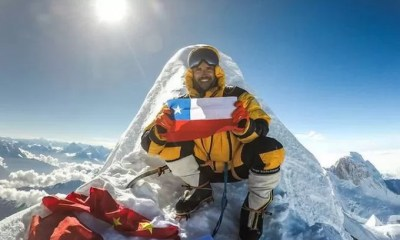Montañista chileno