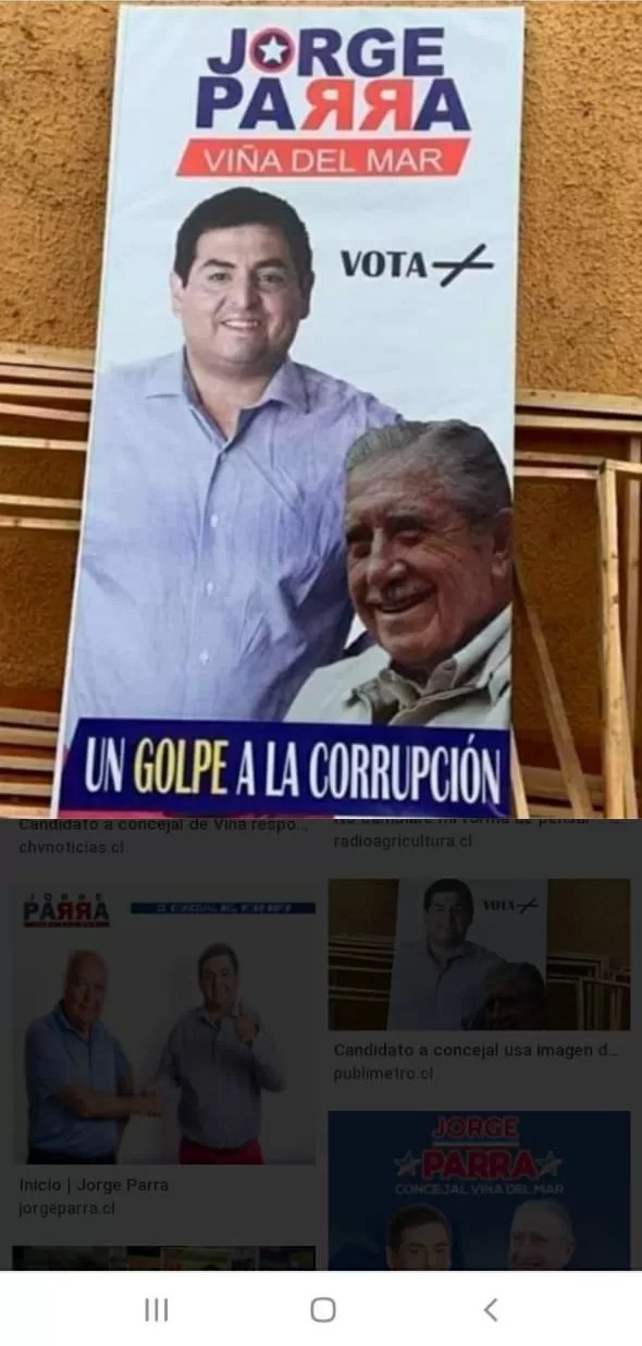 Concejal Jorge Parra Pinochetista asqueroso 0010B