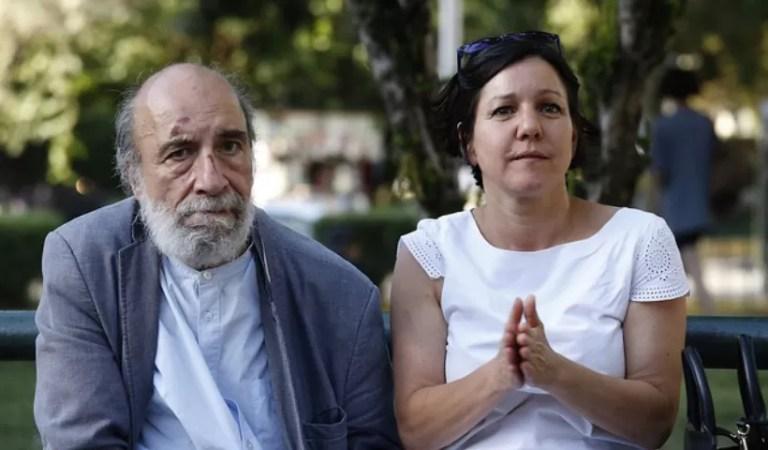 Raúl Zurita a Javiera Parada ASVBB
