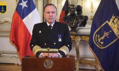 Comandante en Jefe de la Armada, Almirante Julio Leiva JJA0101