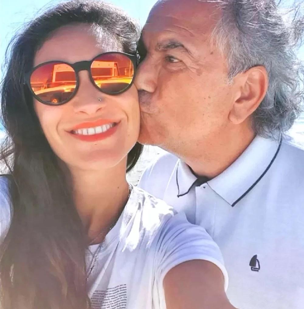 Cristóbal y su hija