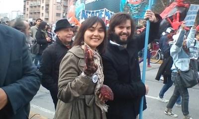Izkia Siches y Gabriel Boric la i999as