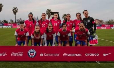Selección Femenina La Roja 10ABB001