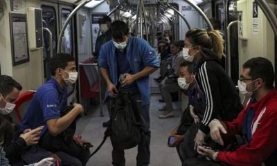 metro de santiago en pandemia i999as