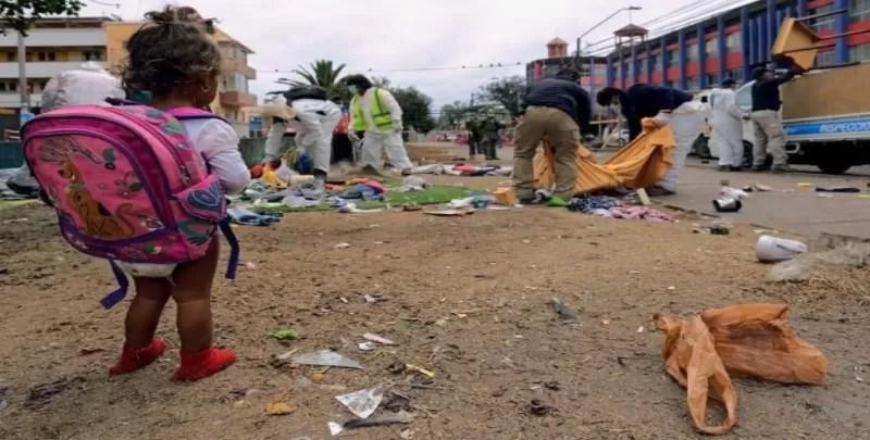 Niña migrante Iquique A93edw-
