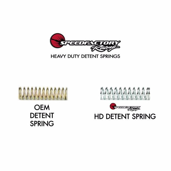 SpeedFactory Racing B / H / F Series HD Detent Spring Kit