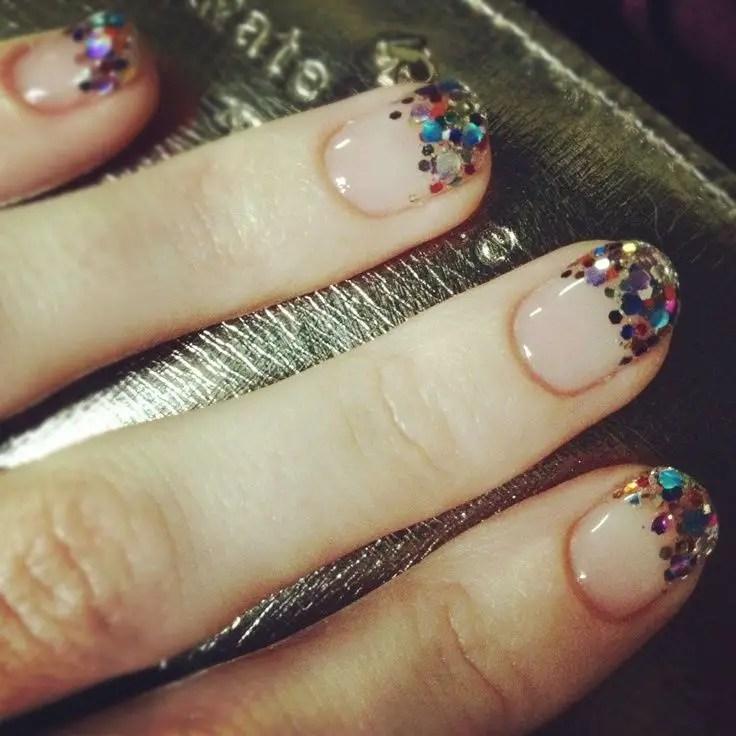 de uñas Glitter