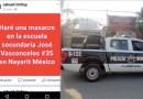 Alerta por Amenaza de  Masacre en Secundaria de Jarretaderas