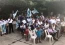 Gran apoyo paraHeribertoSánchez en su primer cierre de campaña