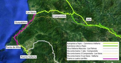 Alistan ampliación de la carretera libre a Puerto Vallarta