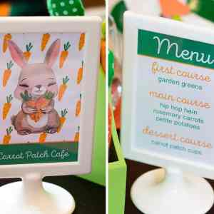 Carrot Patch Easter Sign