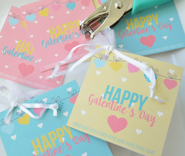 Galentine's Day Free Printable Tag available at Elva M Design Studio