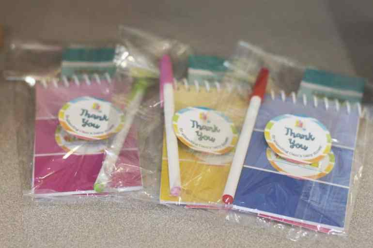Rainbow Book Baby Shower Favors