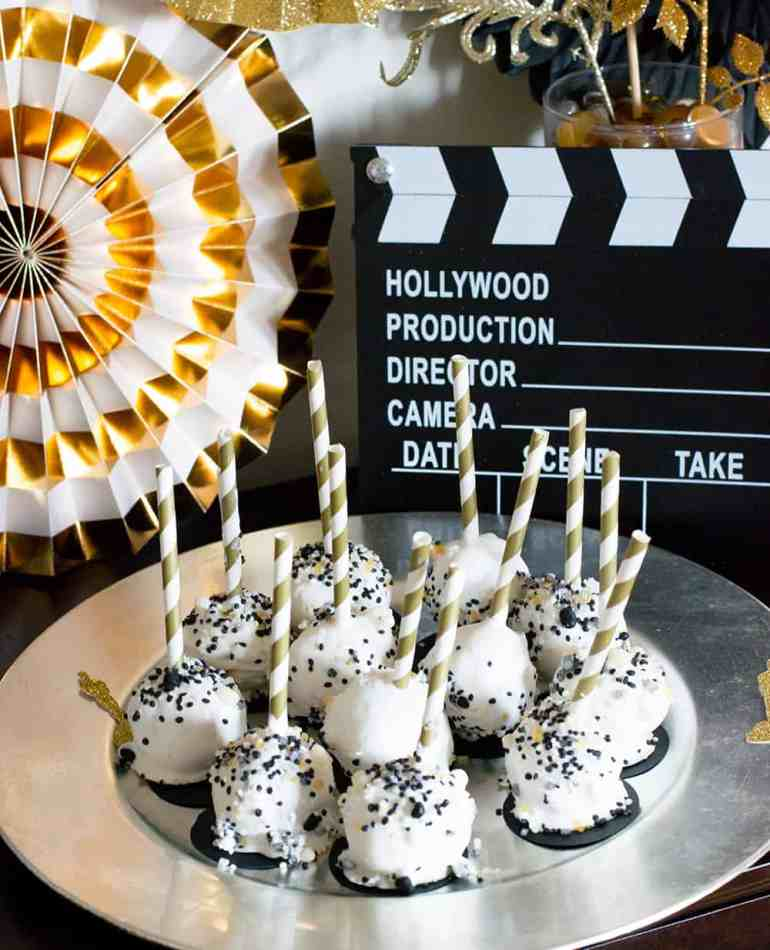 Oscar Party Cakepops