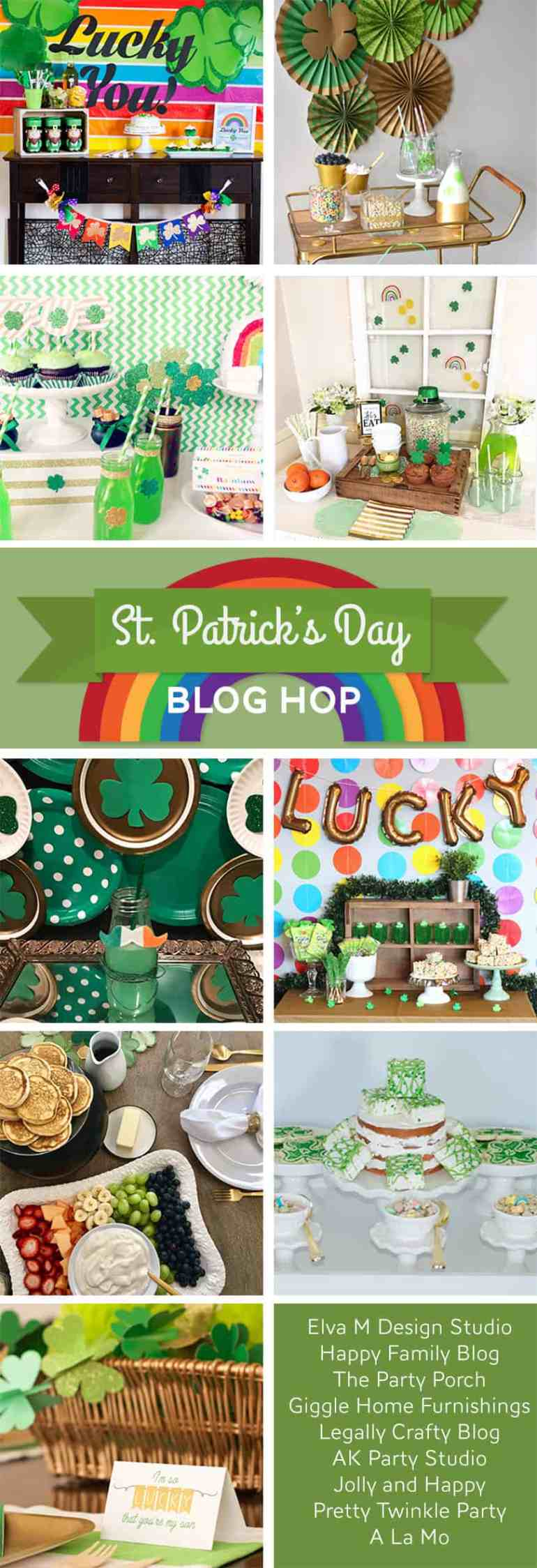 St. Patrick's Day Blog Hop Bloggers