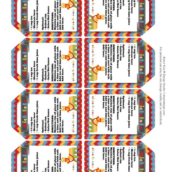 Micheladas for Cinco de Mayo