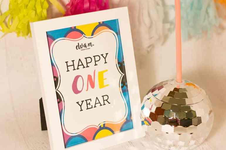 Happy One Year Elva M Design Studio!