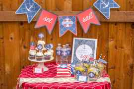 Nautical Printable Party for Catch My Party