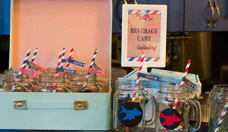 Baby BOY-age Travel Theme Shower