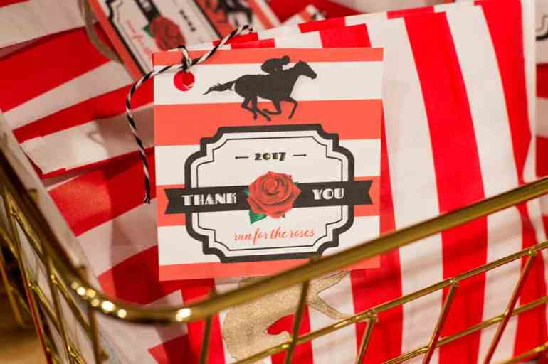 Kentucky Derby Party Favor Tag | Free download (now updated to be used any year!) at Elvamdesign.com