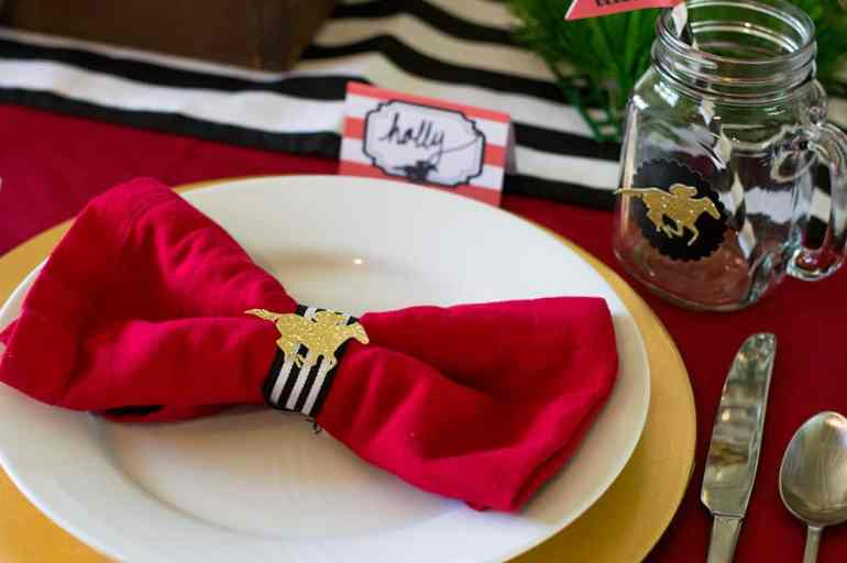 Kentucky Derby Party napkins