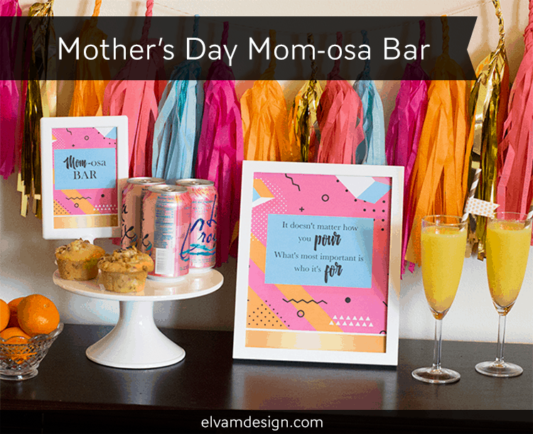 Mother's Day Mom-osa Bar