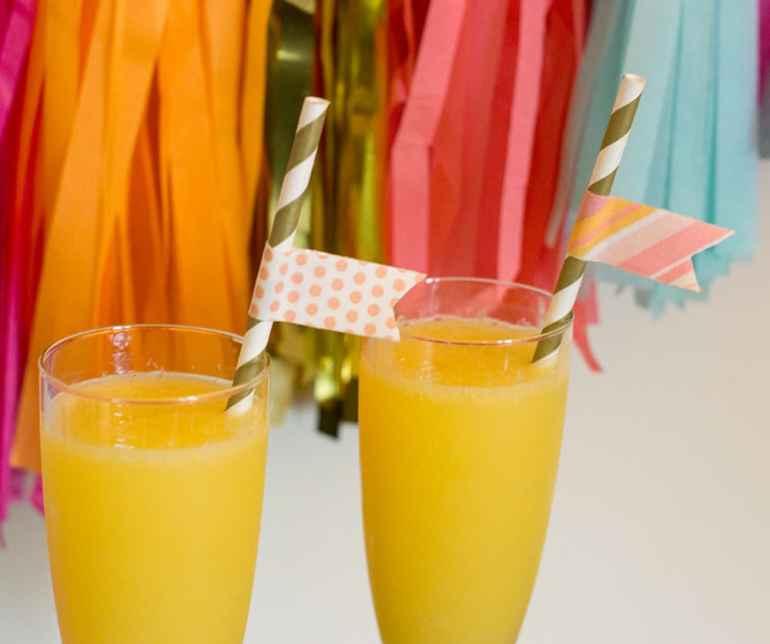 Mocktail Mom-osas with LaCroix and Orange Juice