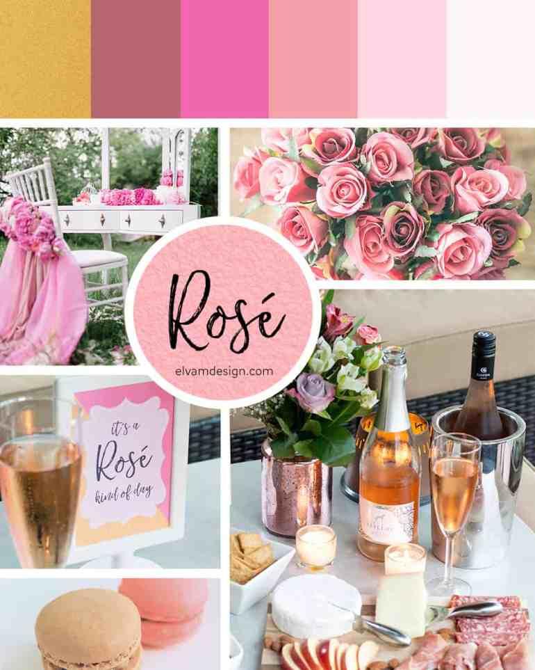 Rosé Kind of Day Mood Board