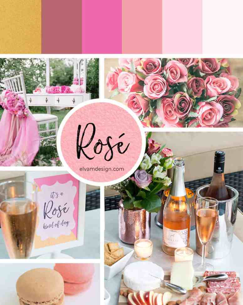 Rosé Kind of Day Mood Board