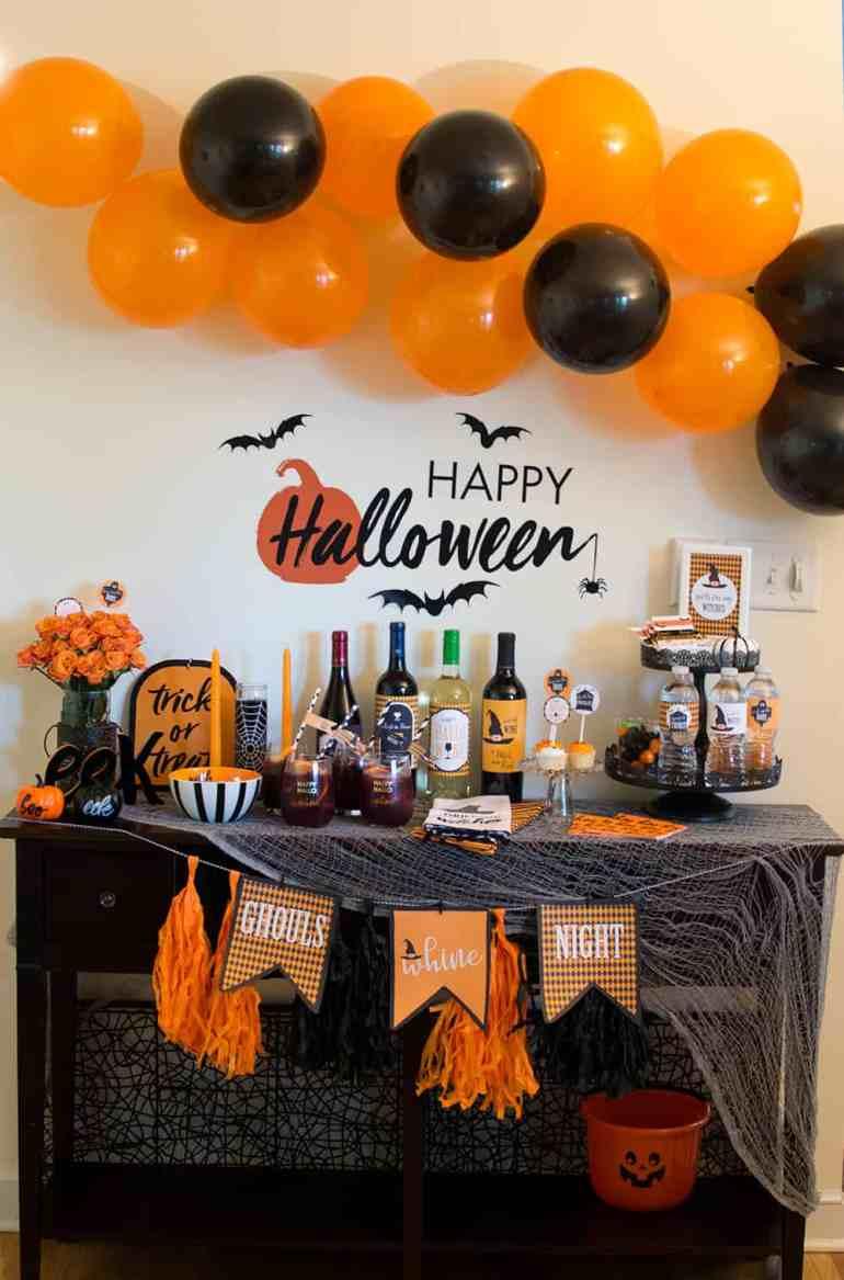 Ghouls Night Halloween Party from Elva M Design Studio