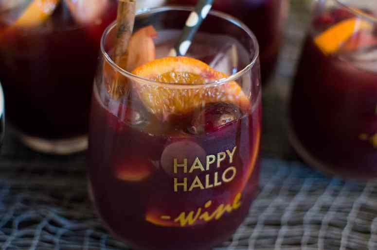 Red Wine Sangria Cocktails
