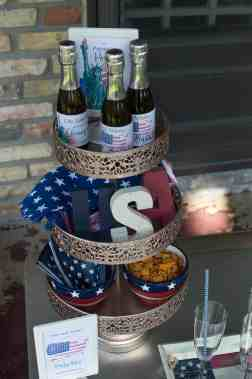 Elva M Design Studio Patriotic Happy Hour - Amalfi Decor 3-tier Stand