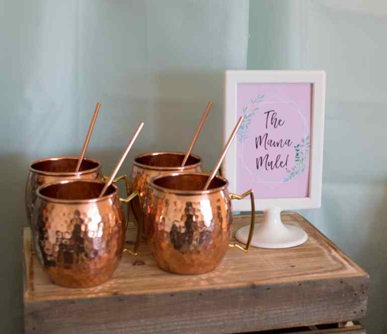 The Mama Mule - a take on the Moscow Mule perfect for a weekend brunch
