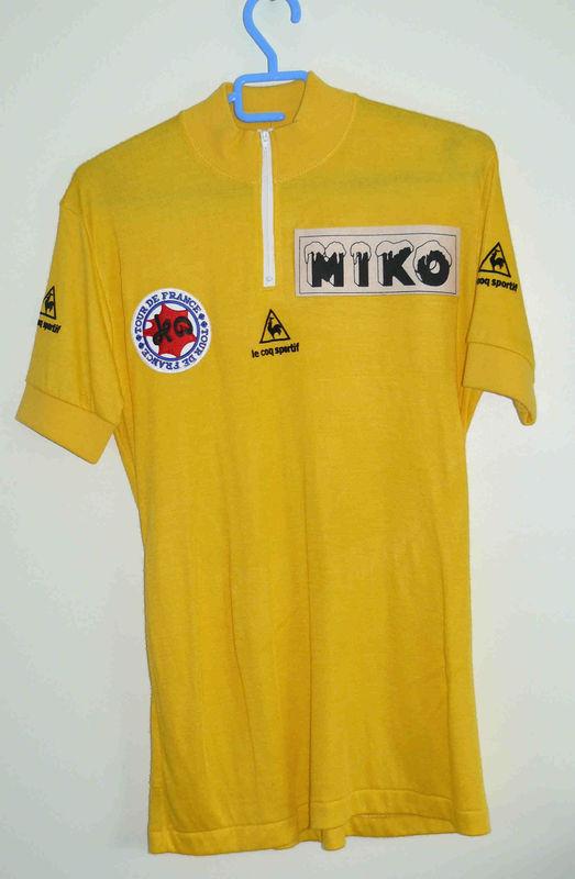 Maillot jaune patrocinado por Miko