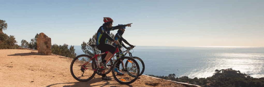 cycling in costa brava rutas del agua