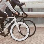 La foto del negocio de la bicicleta, por Santa Fixie