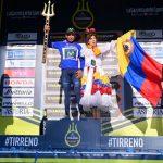 Tirreno-Adriático, la carrera azul