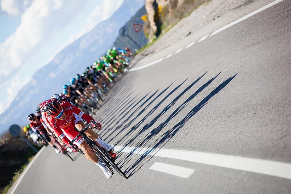 Volta a Catalunya peloton JoanSeguidor