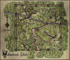 rpg map maps willowbrook fantasy estate elven tower dnd dungeon elventower carte imaginaire property fantastique lieux fantastiques game tokens