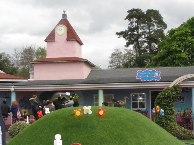 El Parque de Peppa Pig  El Vestidor de las Cookies