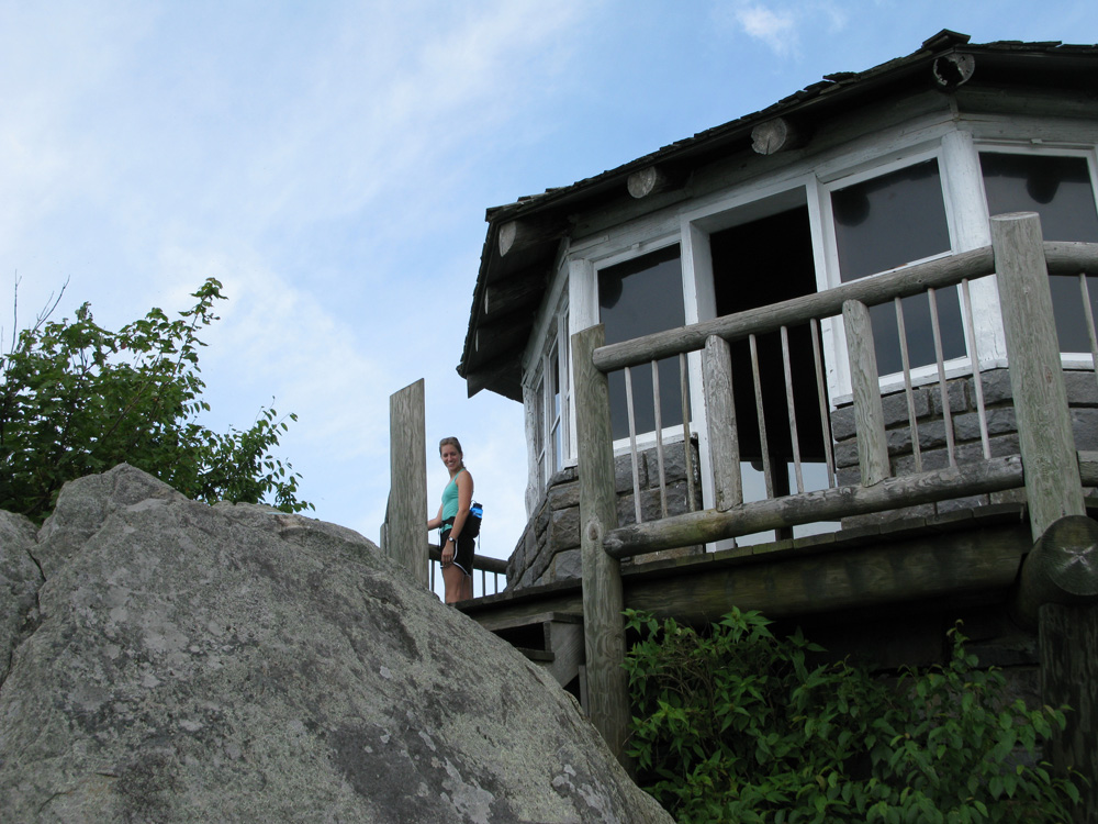 The Mt. Cammerer lookout