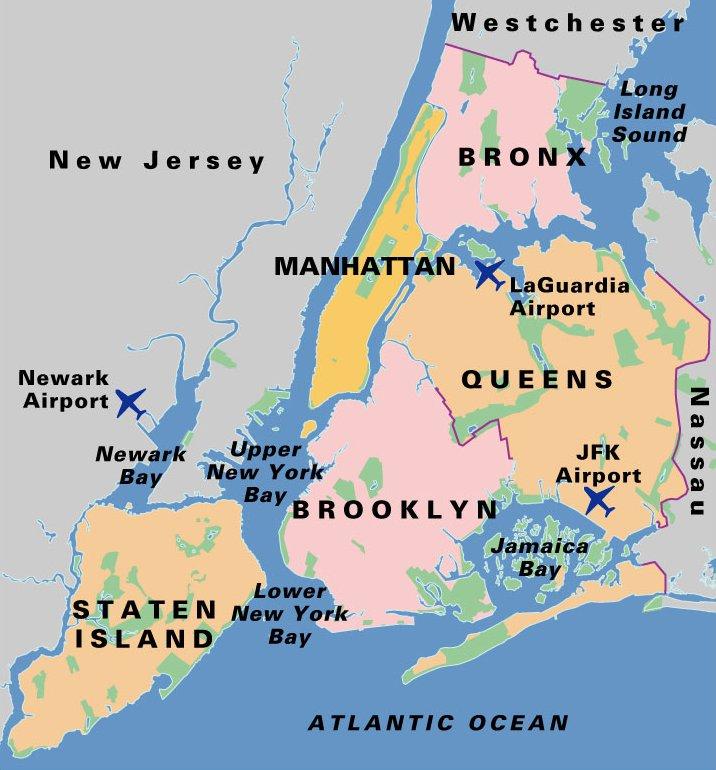 Viaje a nueva york planificaci n por barrios el viaje for New york alloggio economico